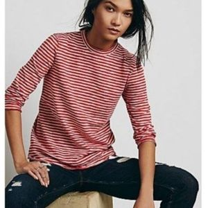 We the Free Long Sleeve Striped Top